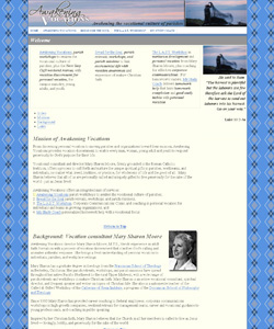 Awakening Vocations Web Design Completed
