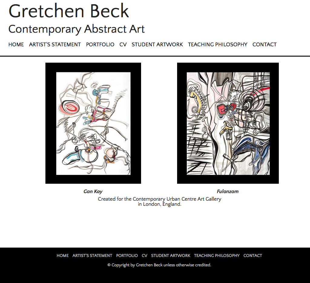 Gretchen Beck - Contemporary Abstract Art